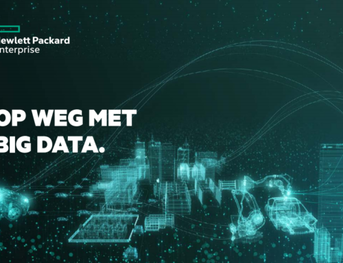 Hewlett Packard Enterprise | Op weg met Big Data