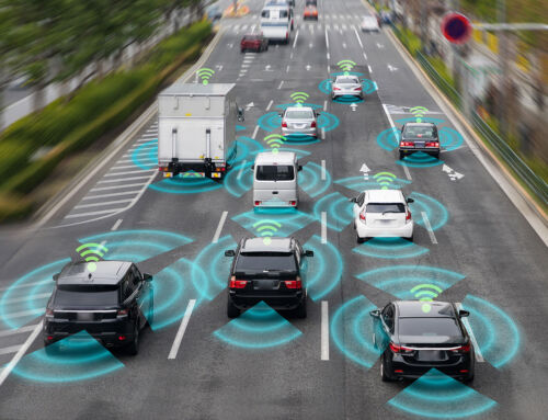 Gedrag van chauffeurs sturen met IoT