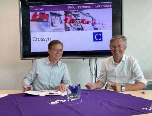 Crossyn verlengt partnerschap met Fontys Hogeschool ICT